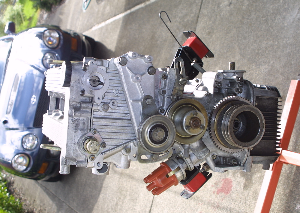 Ts on Alfa Romeo Engine